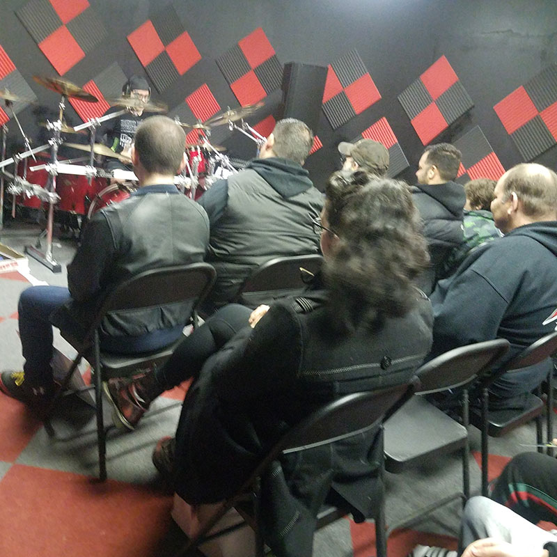 Jason Bittner drum clinic 2019