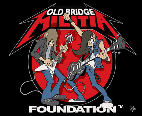 Old Bridge Militia Logo